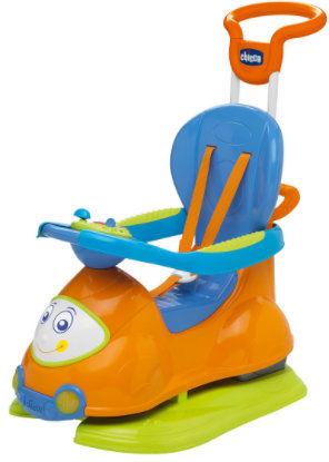 Chicco Jeździdło 4w1 Pomarańczowe 9-36 miesięcy Chicco Quattro Jeździdełko 9m+