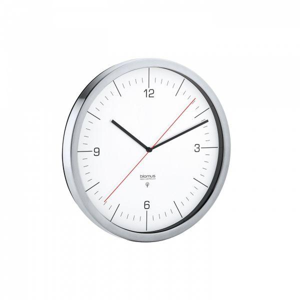 Blomus CRONO Zegar Sterowany Radiowo 24 cm Biały