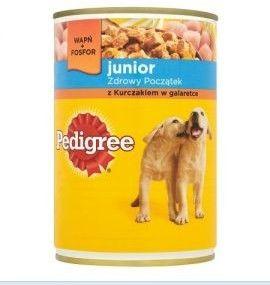 Pedigree Junior z kurczakiem 400 g