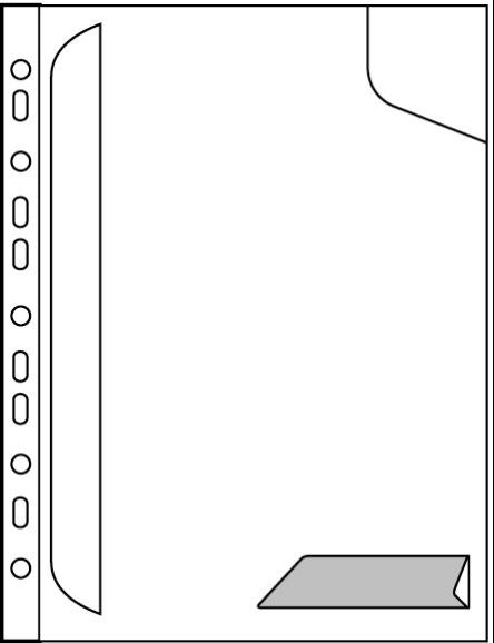 Folder LEITZ COMBIFILE A4 biały transparentny A4 - X06698