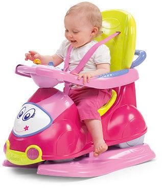 Chicco Jeździdło 4w1 Różowe 9-36 miesięcy Chicco Quattro Jeździdełko 9m+