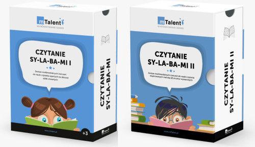 mTalent Czytanie SY-LA-BA-MI  Pakiet (cz. 1 i cz. 2)