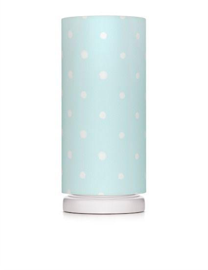 Lampka nocna ze ściemniaczem - white dots