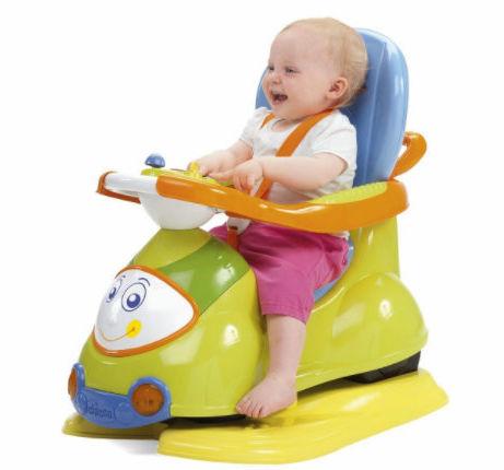 Chicco Jeździdło 4w1 Zielone 9-36 miesięcy Chicco Quattro Jeździdełko 9m+