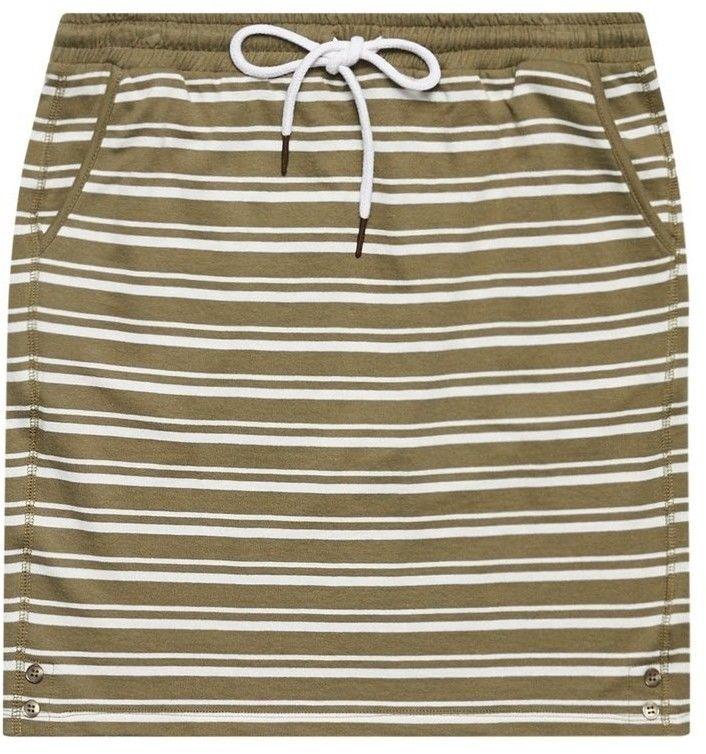 Spódnica bawełniana w paski