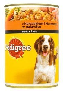Pedigree z kurczakiem i marchewką w galaretce 400 g