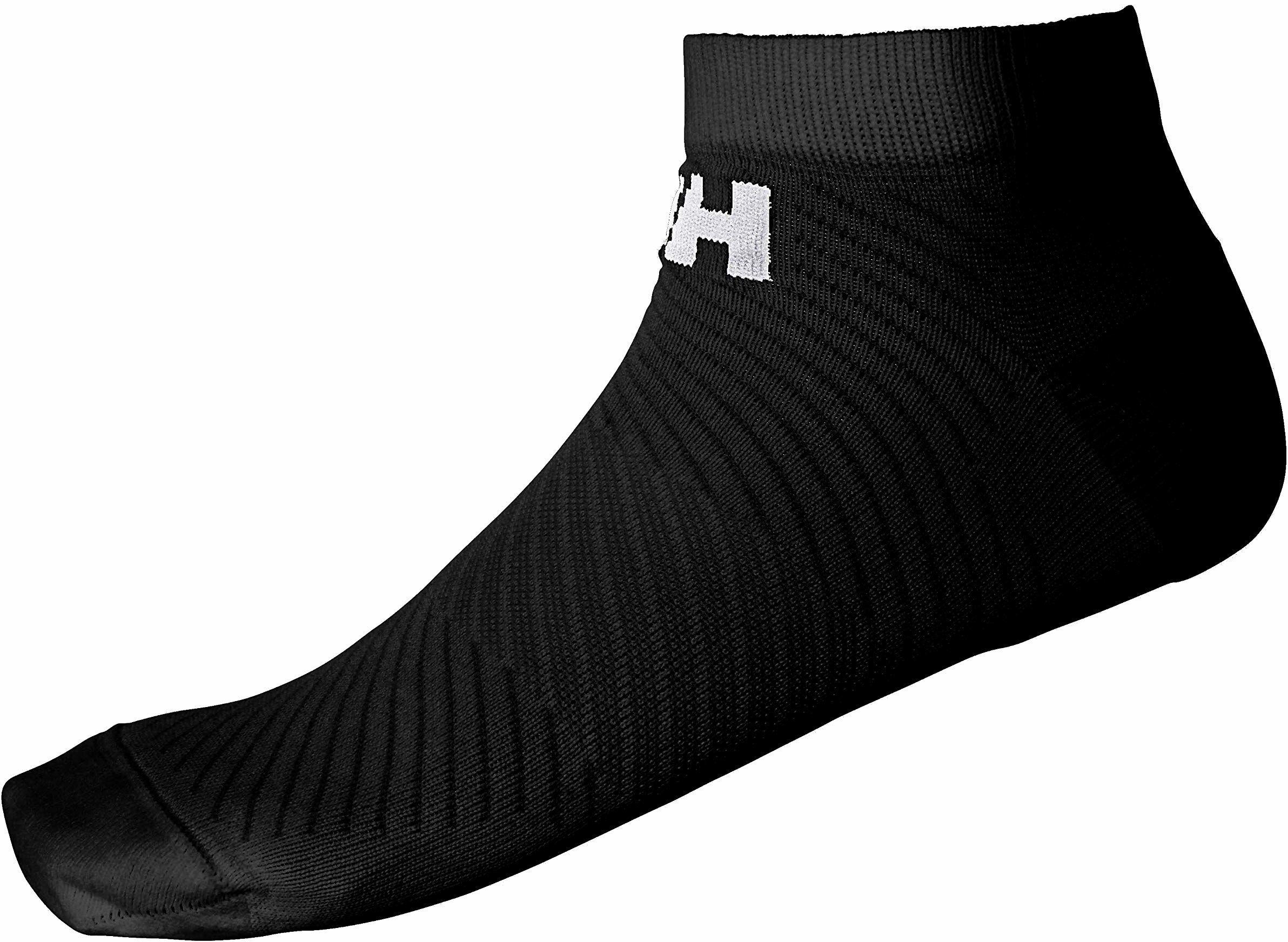 Helly Hansen Active Sport skarpety uniseks, czarny/czarny, 36-38