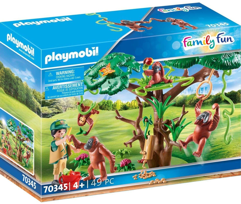 Playmobil - Orangutany na drzewie 70345