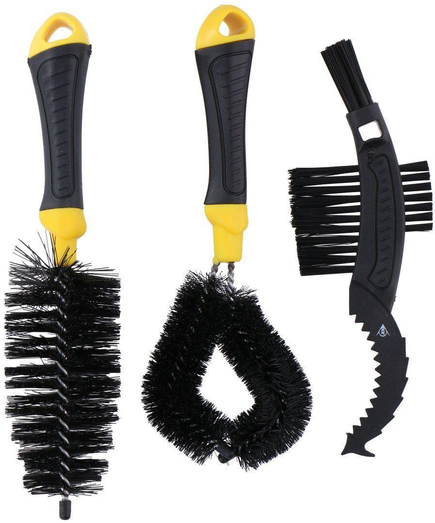 Zestaw szczotek do czyszczenia roweru łańcucha Dunlop x3