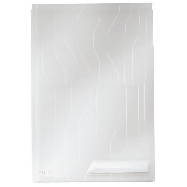 Folder poszerzany LEITZ COMBIFILE A4 biały transparentny 200 - X06702