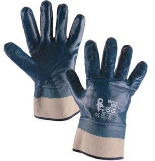 Rękawice robocze PELA nitryl ciężki CXS