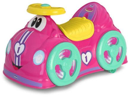Chicco Jeździdło All Around Dla Dziewczynki 1-3 lata Chicco 2w1 Różowe Jeździdełko 1 Rok+