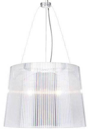 Ge'' Ø37 przezroczysty - Kartell - lampa wisząca
