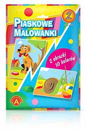 Z.P. Alexander 1400 Piaskowe Malowanki - Pies I Ślimak