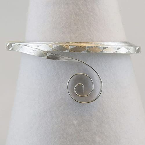 Vaessen Creative 5 mm x 3 m drut aluminiowy płaski, srebrny