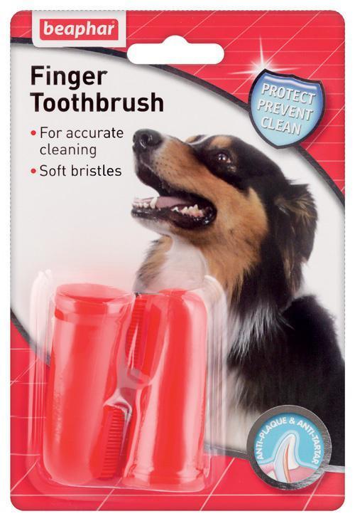 Beaphar Szczoteczka do zębów psa-finger toothbrush