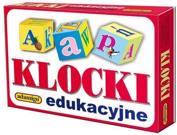 Klocki edukacyjne 18 elementowe - Adamigo