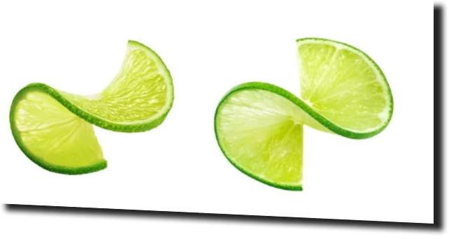 obraz na szkle Limonki kuchnia owoce