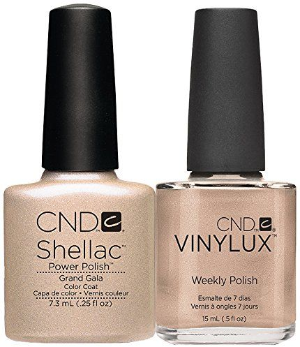 CND Shellac plus Vinylux Grand Gala Prepack 2014, 1 opakowanie (1 x 2 sztuki)