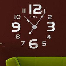 """Zegar ścienny """"zrób to sam"""" cichy #22S2 /380mm"""
