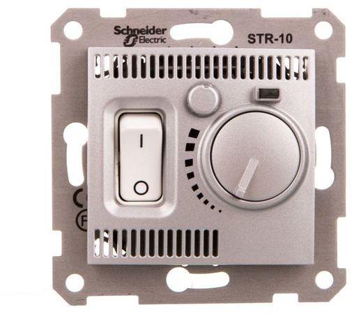 Sedna Regulator temperatury 5-30 C aluminium SDN6000160