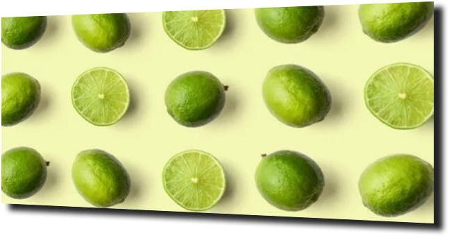 obraz na szkle Limonka jedzenie owoc