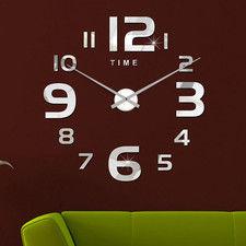 """Zegar ścienny """"zrób to sam"""" cichy #22S5 /452mm"""