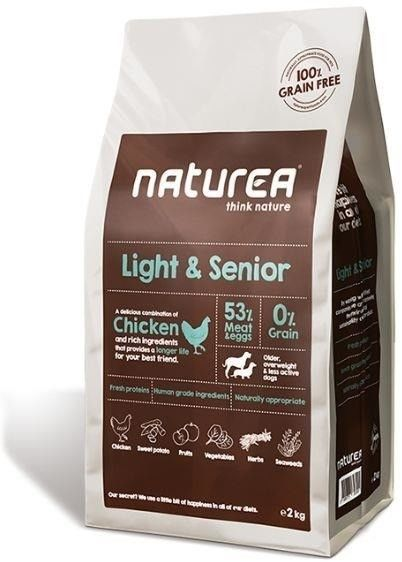 Naturea grain free light & senior Chicken 12kg