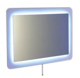LORDE lustro na szkle z oświetleniem LED 900x600mm, białe Odbiór osobisty BEZ OPŁAT !!! - Warszawa, Gdynia - Dostawa od 29.00zł