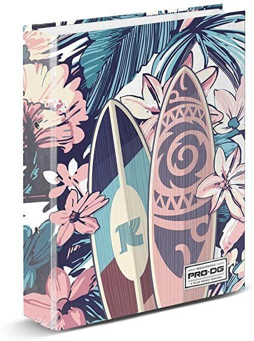 PRODG PRODG pierścionek bindder Samoa uchwyt na torebkę, 32 cm, wielokolorowy (wielokolorowy)