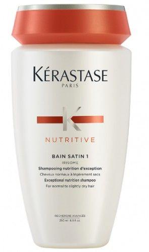 Kerastase Nutritive Bain Satin 1 kąpiel odżywcza do włosów normalnych lub suchych 250 ml