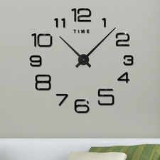 "Zegar ścienny ""zrób to sam"" cichy #23B3 /355mm"