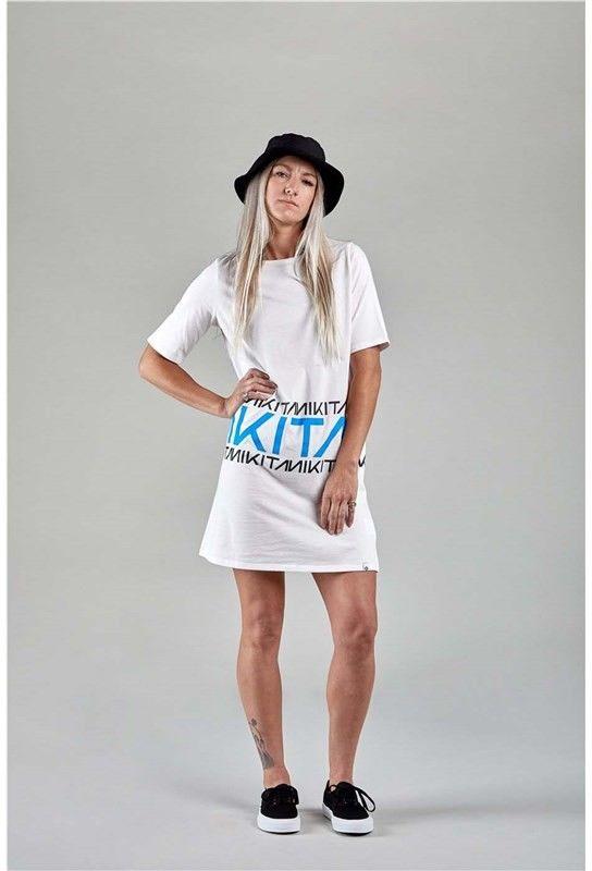 sukienka NIKITA - Brunnur Dress White (WHT)
