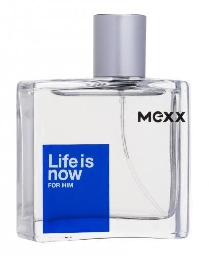 Mexx Life Is Now For Him woda toaletowa 50 ml dla mężczyzn