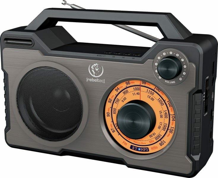 Rebeltec głośnik bluetoooth/radio RODOS
