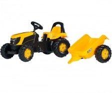 JCB rollyKid Traktor na pedały z przyczepką 2-5 Lat Rolly Toys