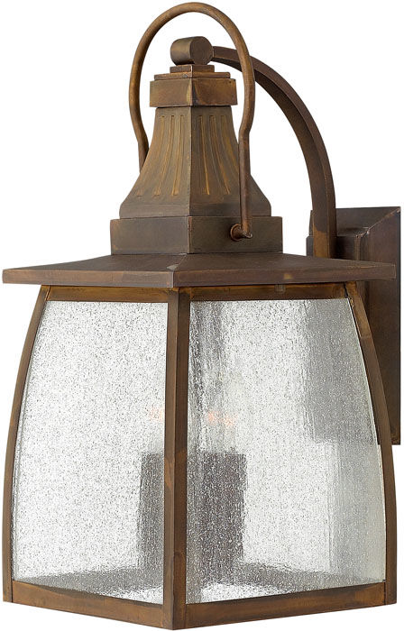 Kinkiet zewnętrzny Montauk HK/MONTAUK L Hinkley latarnia ścienna w klasycznym stylu