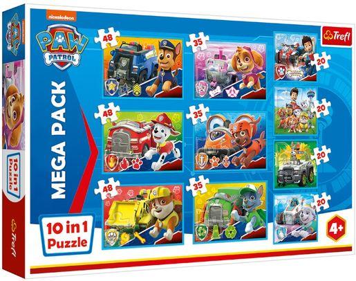 Puzzle 10w1. Ekipa Psiego Patrolu