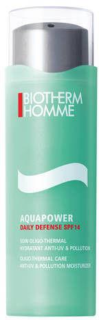 Biotherm Homme Aquapower żel nawilżający i ochronny z filtrem UV 75 ml