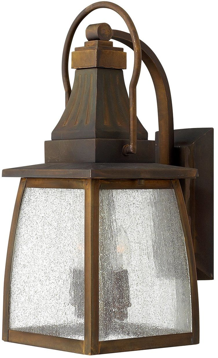 Kinkiet zewnętrzny Montauk HK/MONTAUK M Hinkley latarnia ścienna w dekoracyjnym stylu