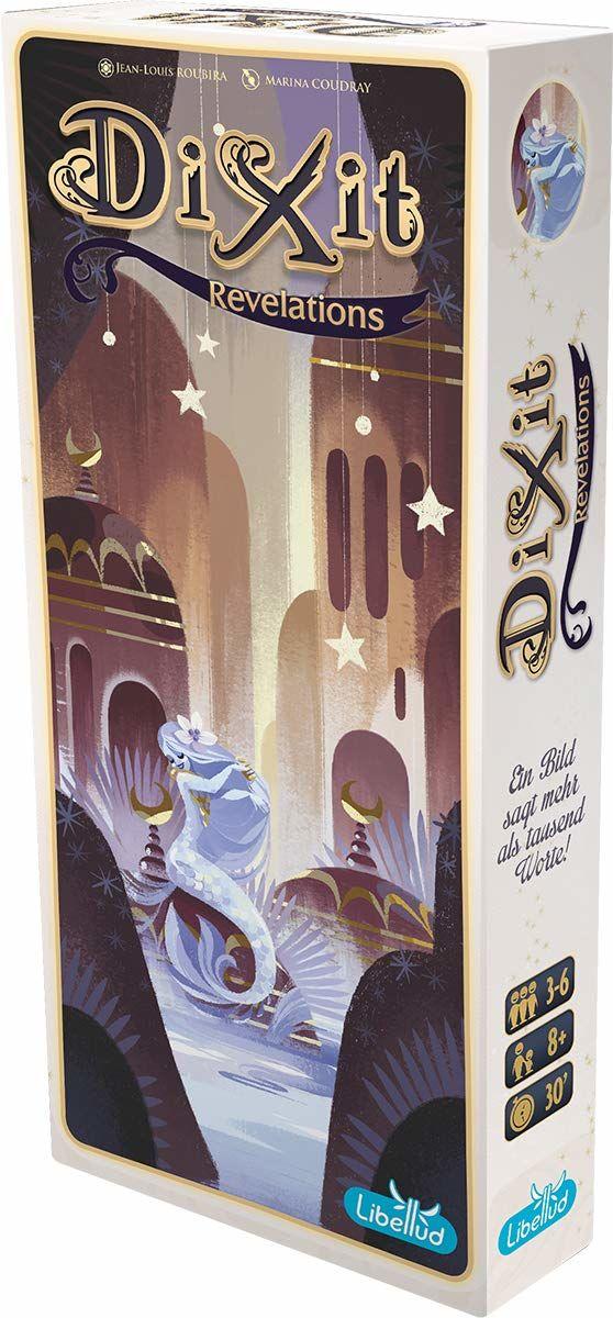Asmodee LIB0003 - Dixit 7 - rewelacja, gra i puzzle