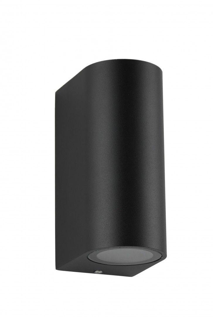 Kinkiet elewacyjny 2 punktowy MINI 6002 BL czarny IP44 - Su-ma Do -17% rabatu w koszyku i darmowa dostawa od 299zł !