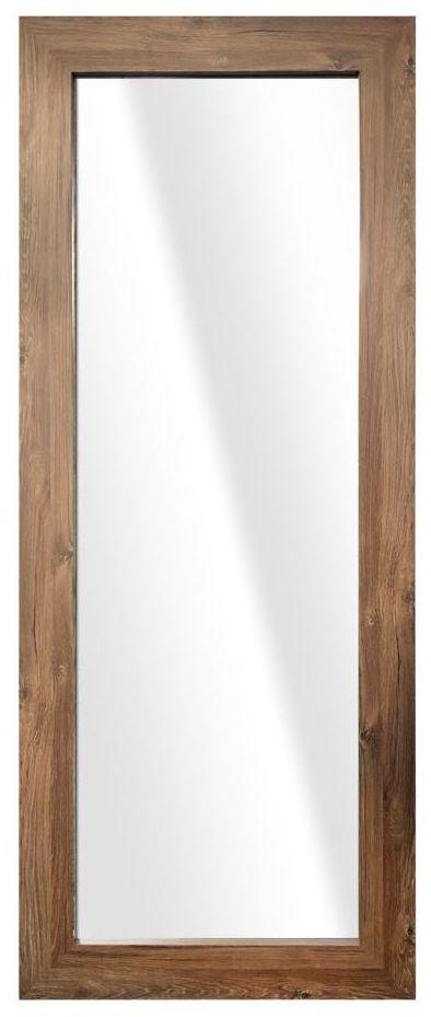 Lustro JYVASKYLA brązowe 60 x 148 cm