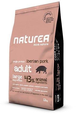 Naturea adult large iberian pork 12kg