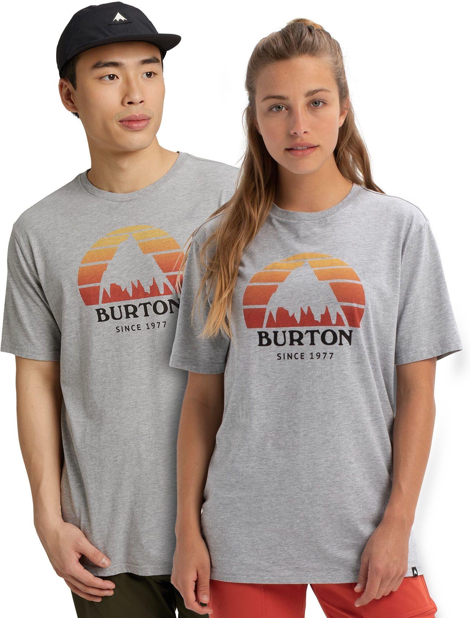 koszulka BURTON UA UNDERHILL SS Gray Heather