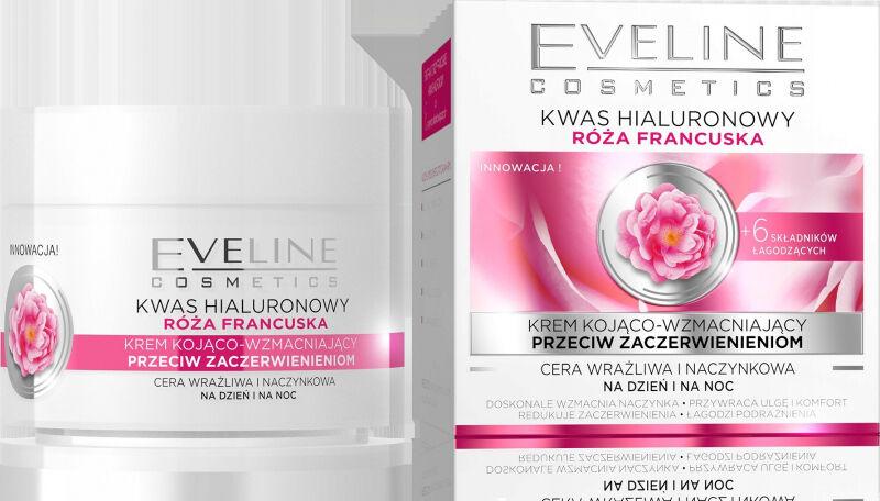 Eveline Cosmetics - Wygładzający krem do twarzy o działaniu przeciwzmarszczkowym - Cera wrażliwa i naczynkowa - 50 ml
