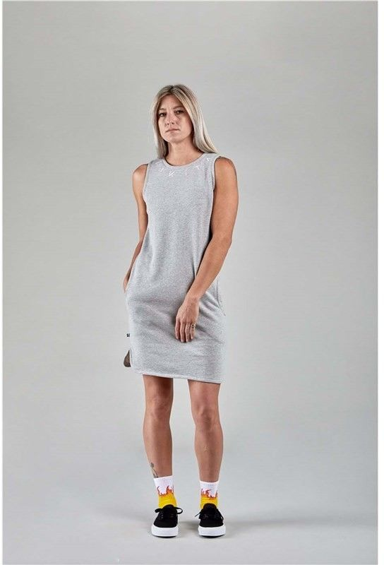 sukienka NIKITA - Seeker Dress Athletic Heather Grey (AGH)