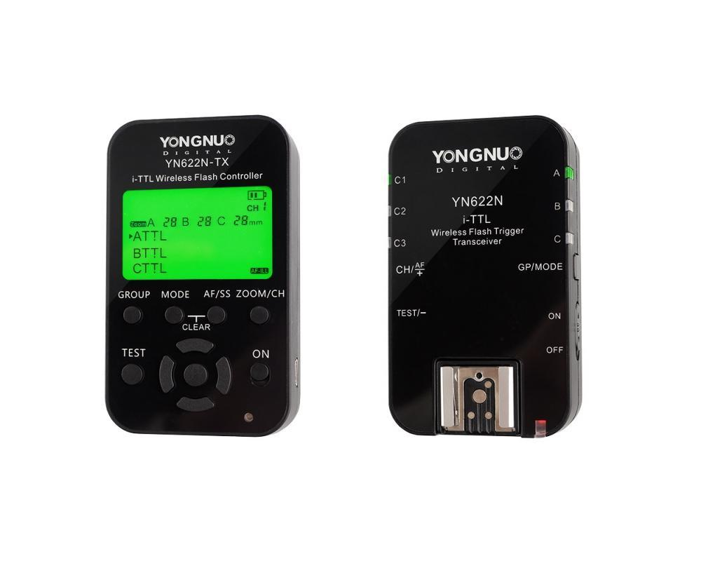 Yongnuo YN622N-KIT - wyzwalacz radiowy do lamp systemowych i studyjnych Yongnuo YN622N-KIT
