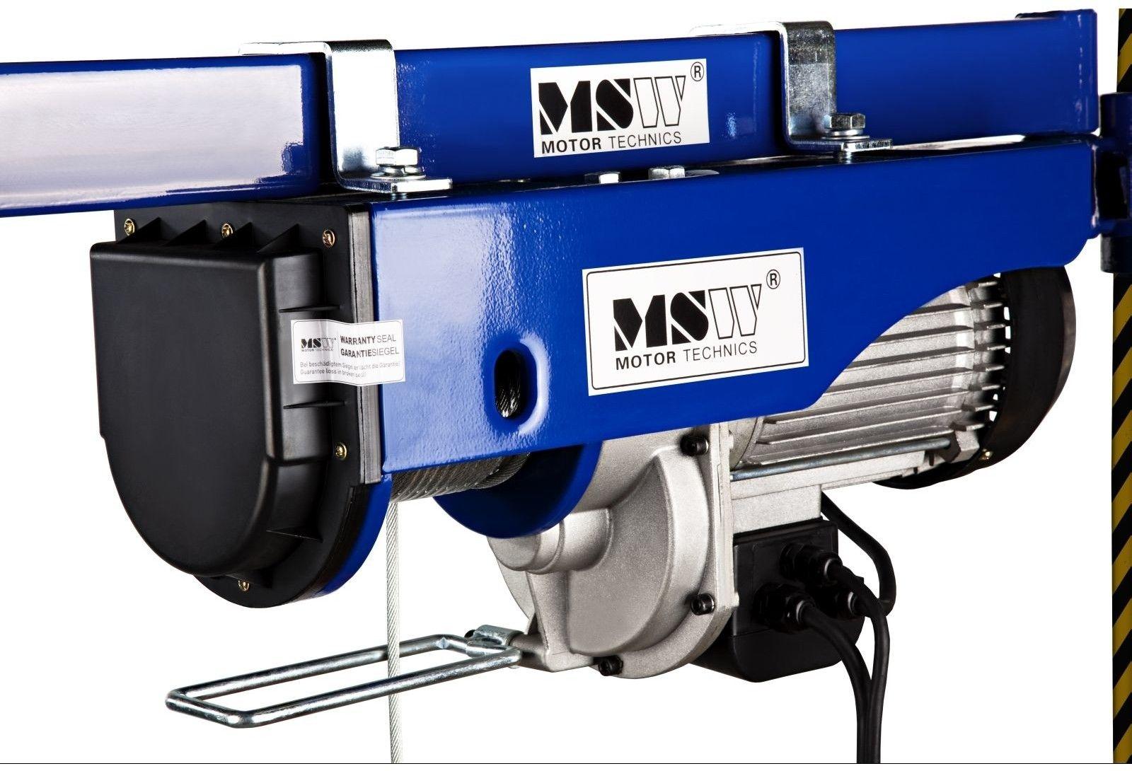 Wyciągarka linowa PROLIFTOR 400 - MSW - PROLIFTOR 400 - 3 lata gwarancji/wysyłka w 24h