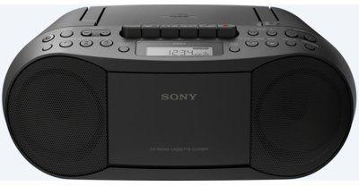 Radiomagnetofon SONY CFD-S70 Czarny>>Teraz w zestawie do 70% TANIEJ. Sprawdź!